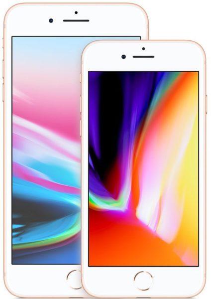 iPhones 8 e 8 Plus