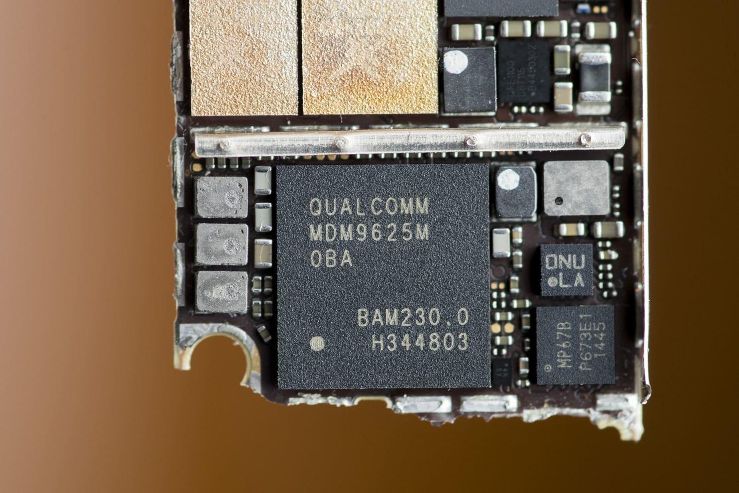 Chip da Qualcomm usado no iPhone 6