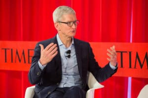 Tim Cook na TIME 100 Summit