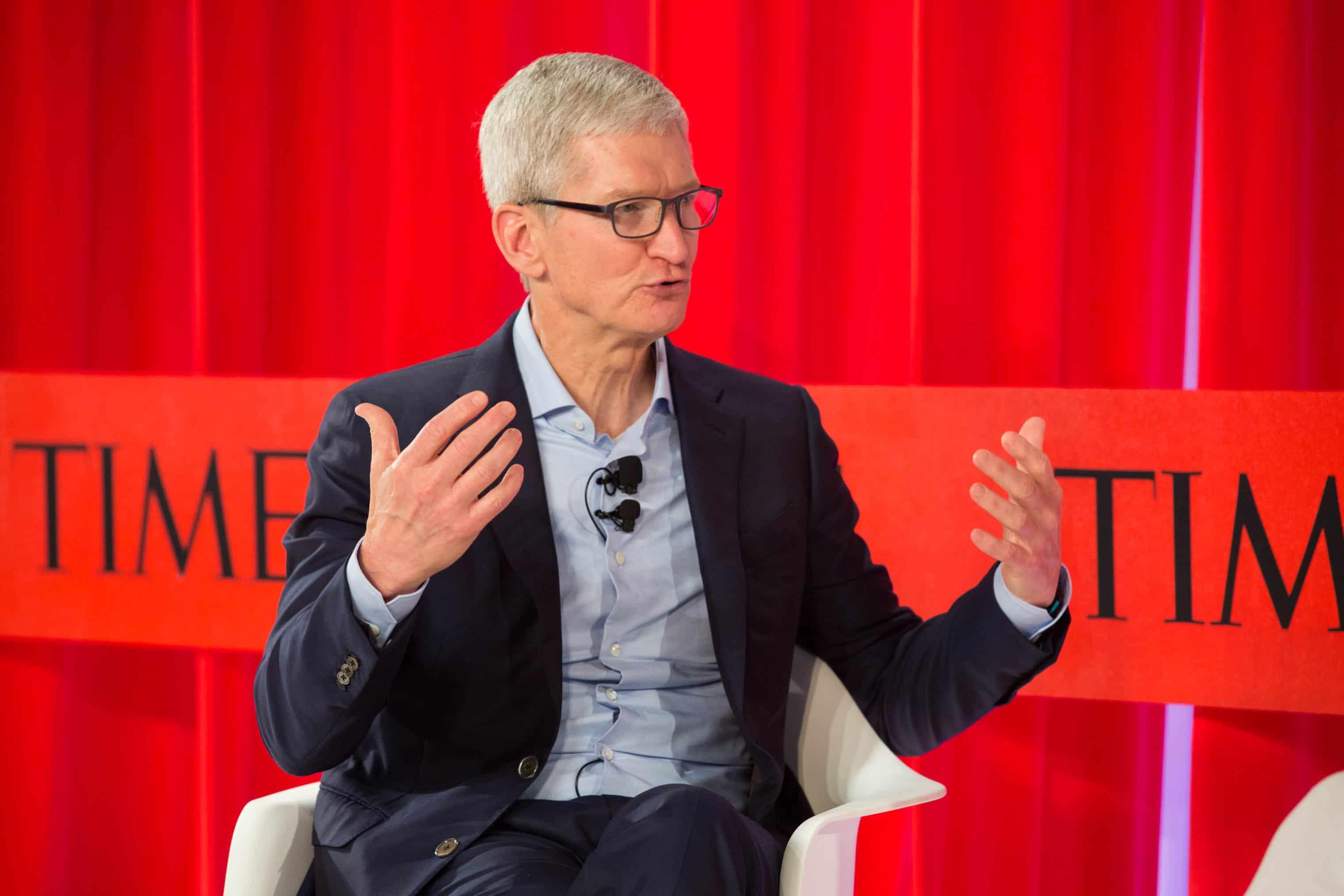 Tim Cook na TIME 100 Summit
