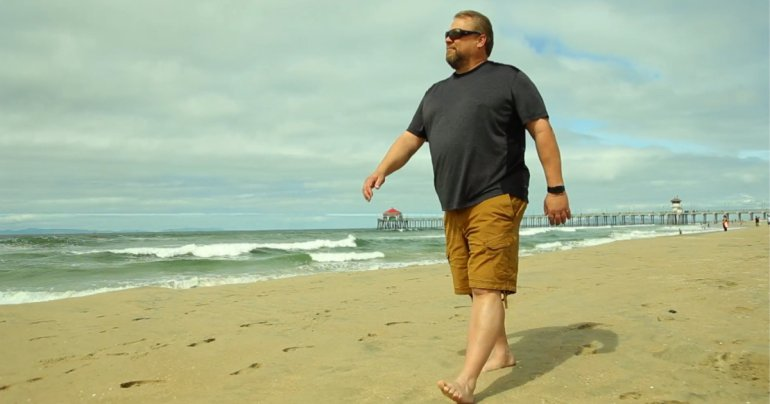 Robert Bainter perdeu seu Apple Watch em Huntington Beach