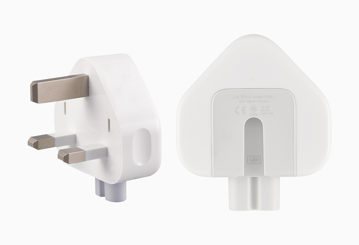 Recall do adaptador de três pinos da Apple