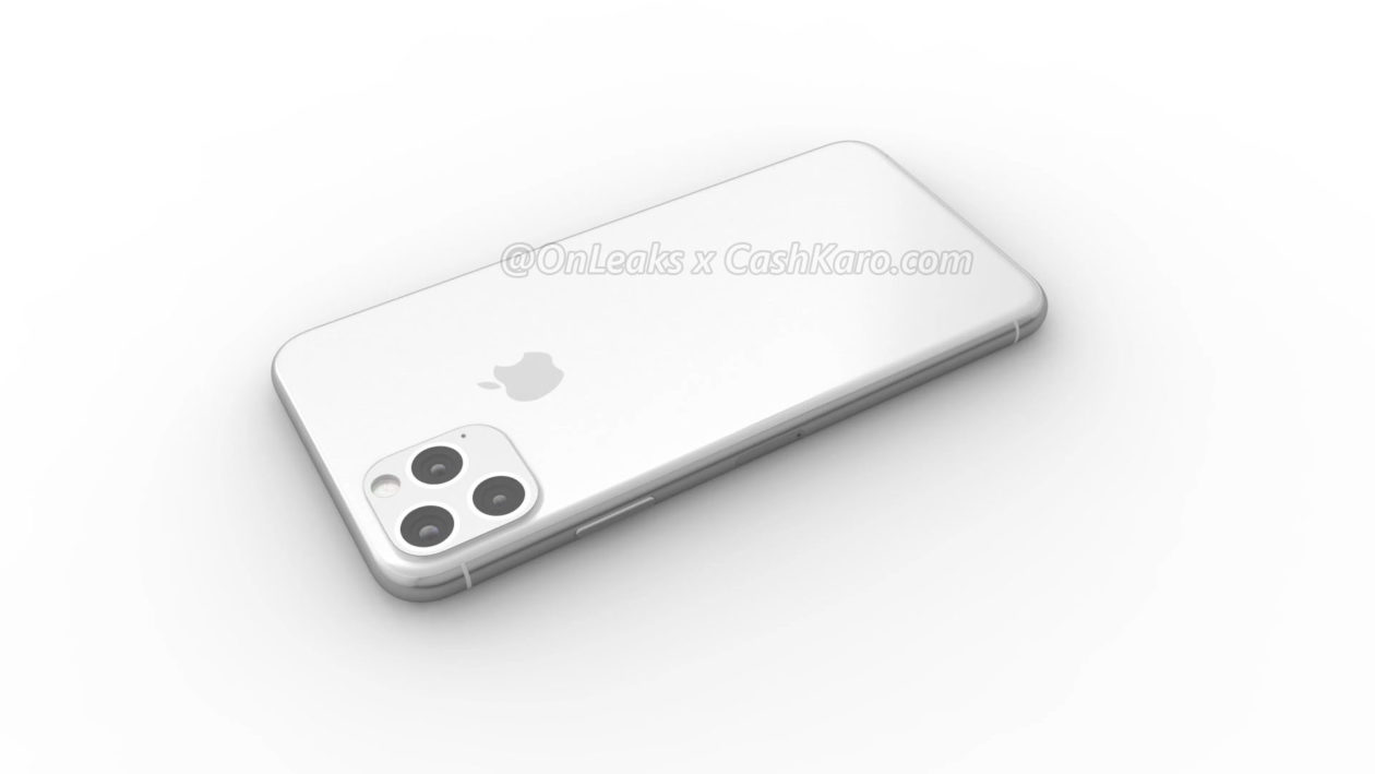 "Render do ""iPhone XI"""