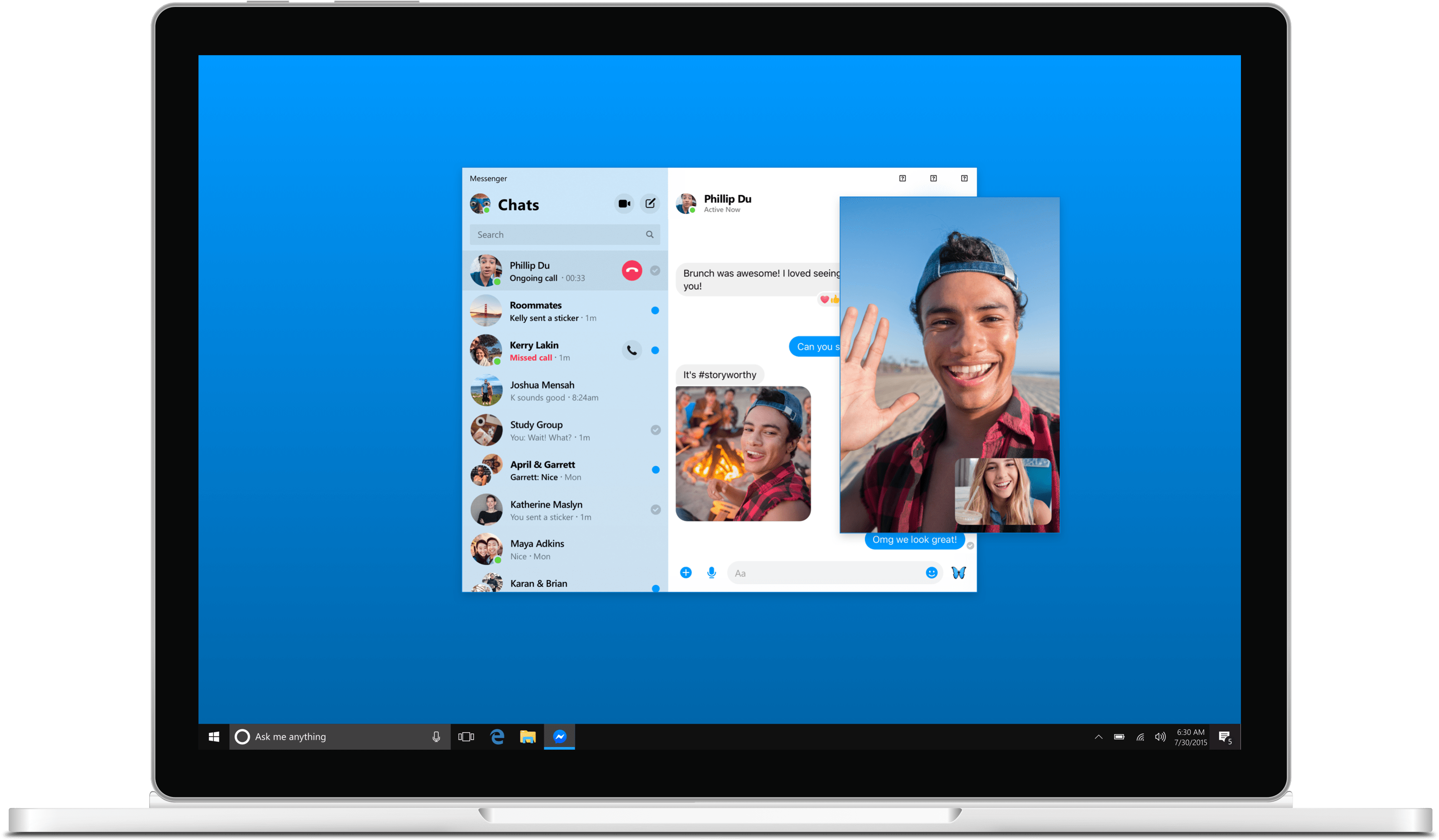 Facebook Messenger no desktop