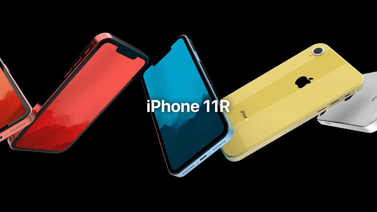 """Conceito de """"iPhone 11R"""" por Gunho Lee"""