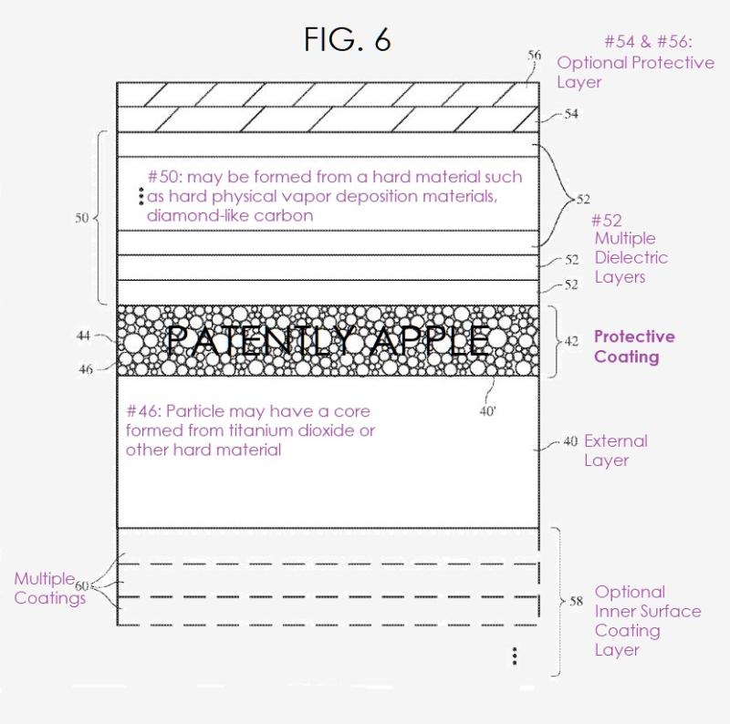 Patente da Apple para camada de nanopartículas que deixa dispositivos mais resistentes