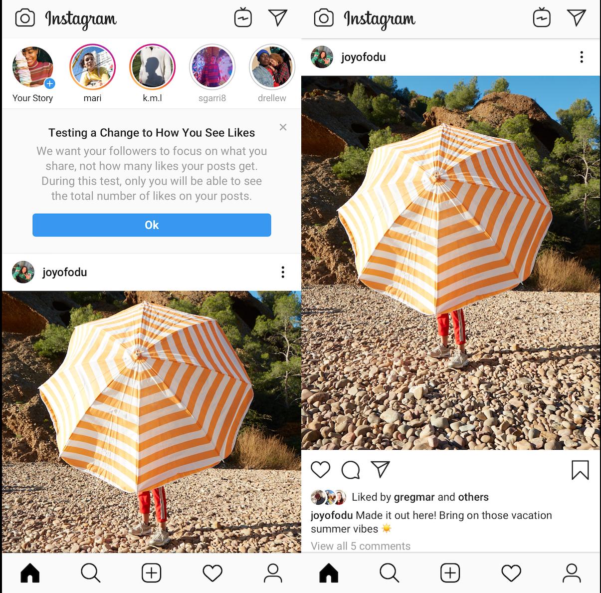 Novidades do Instagram