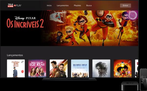 Aplicativo Telecine Play está agora disponível para Apple TVs!
