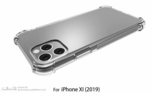 "Render de case do ""iPhone XI"" pelo Slashleaks"