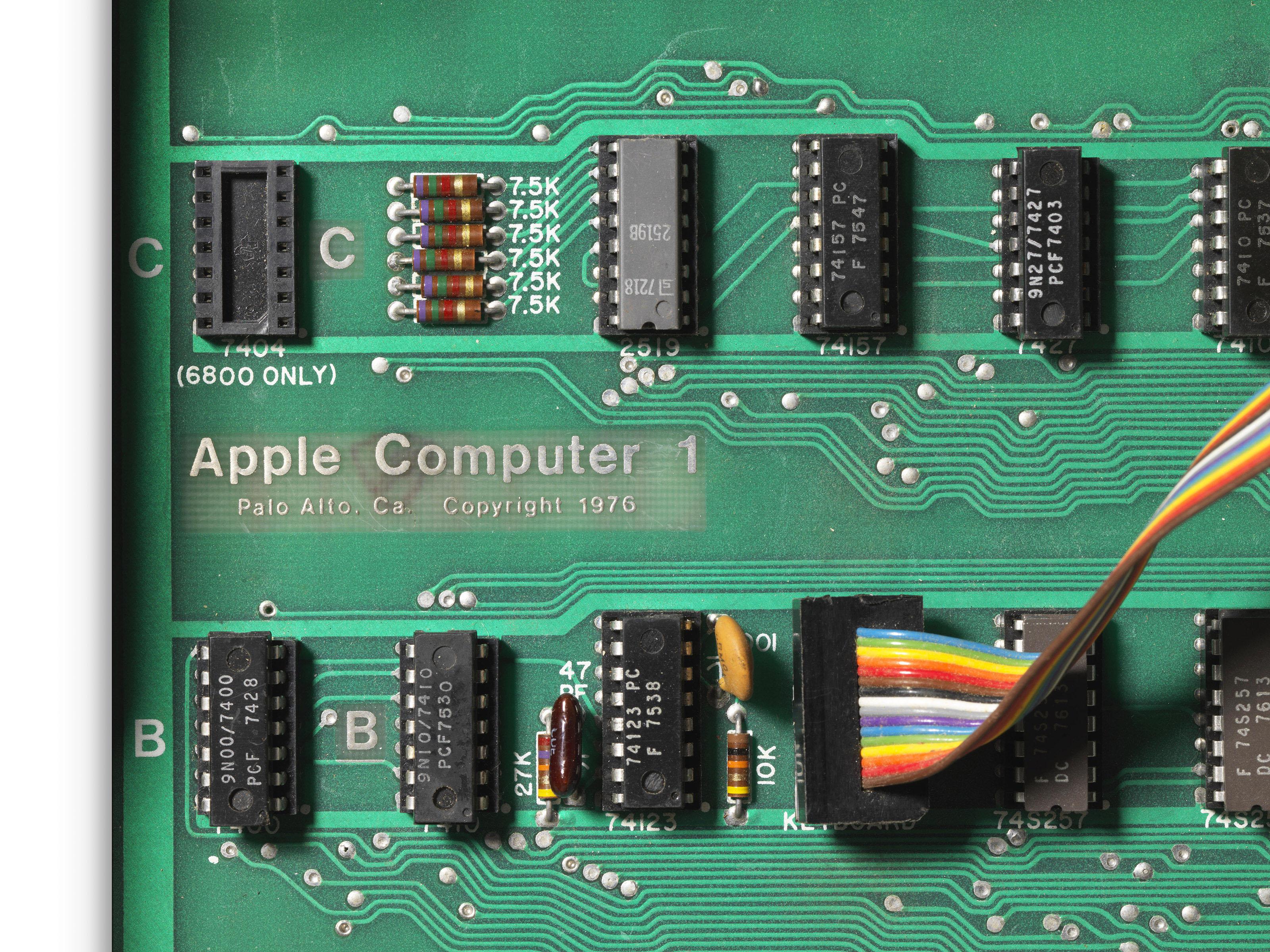 Placa-mãe do Apple I