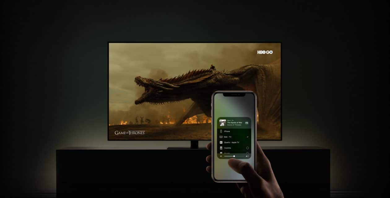 AirPlay 2 em Smart TVs