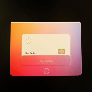 Apple Card de Ben Geskin