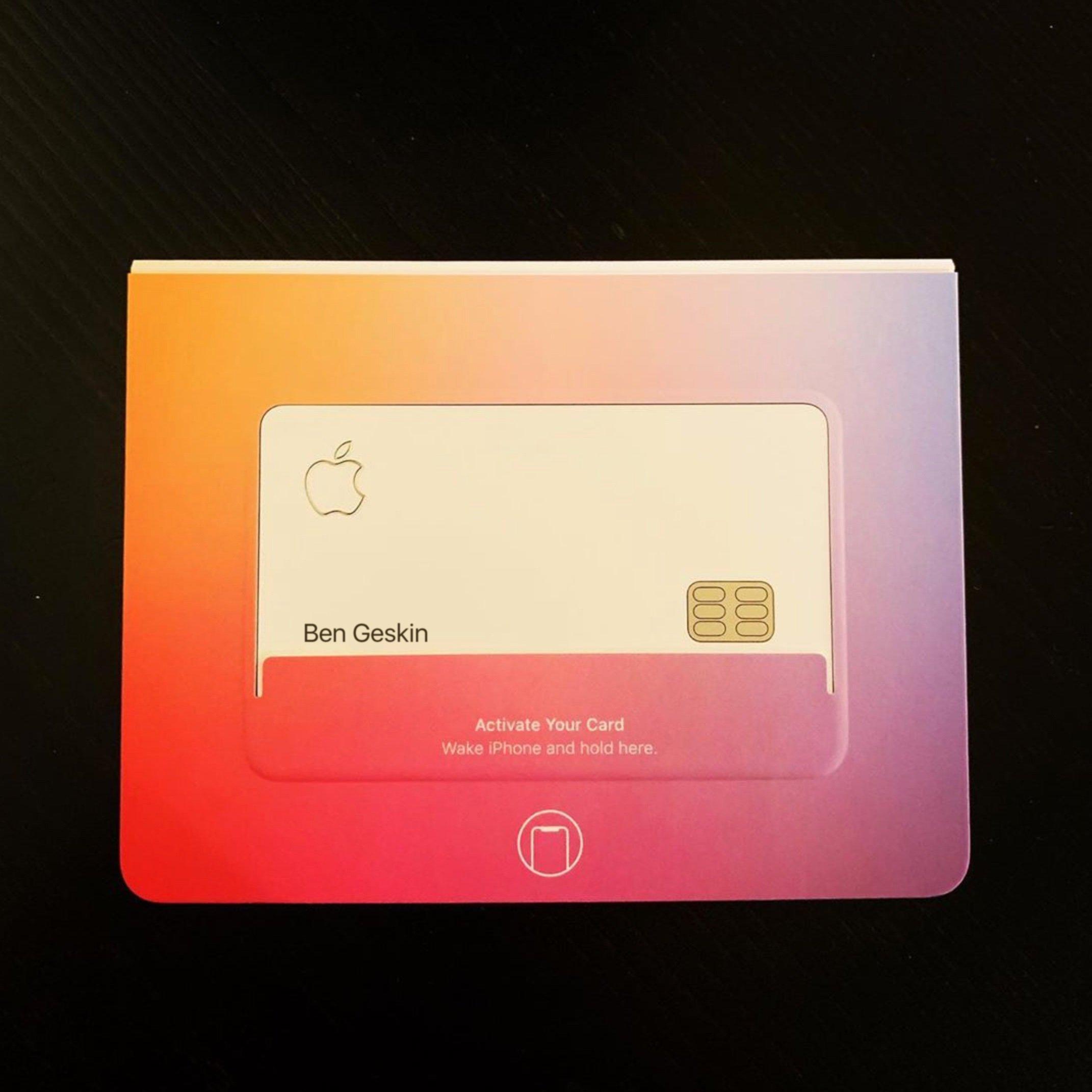 Apple Card de Ben Geskin