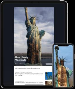 App da Estátua da Liberdade