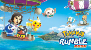 Novo jogo Pokémon Rumble Rush para iOS e Android