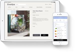 Pagando compras em apps com o Apple Pay