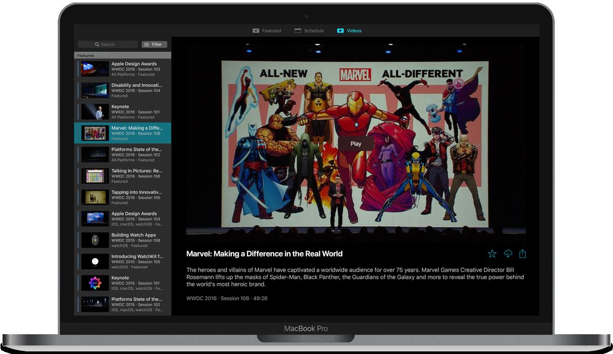 App não-oficial da WWDC atualizado para a edição 2019 do evento