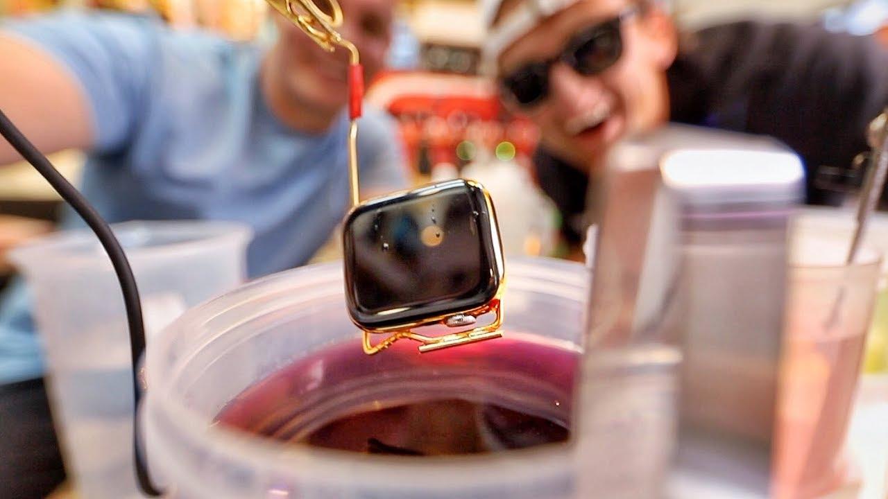 Apple Watch de ouro