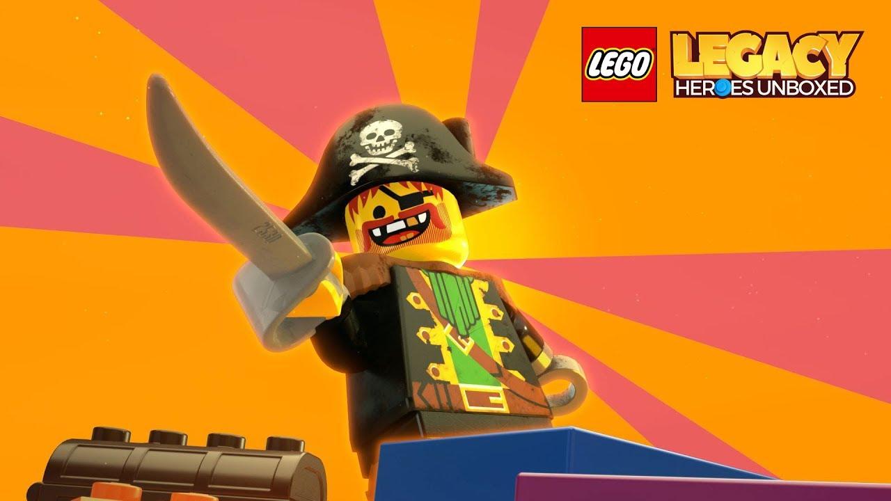 [Vídeo] LEGO Legacy: Heroes Unboxed
