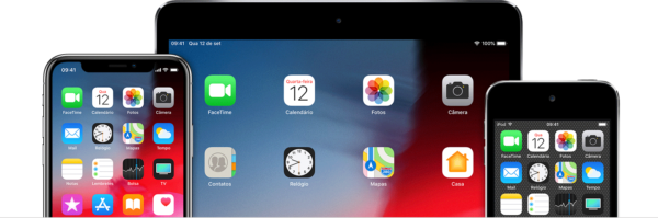iPhone, iPad Pro e iPod touch