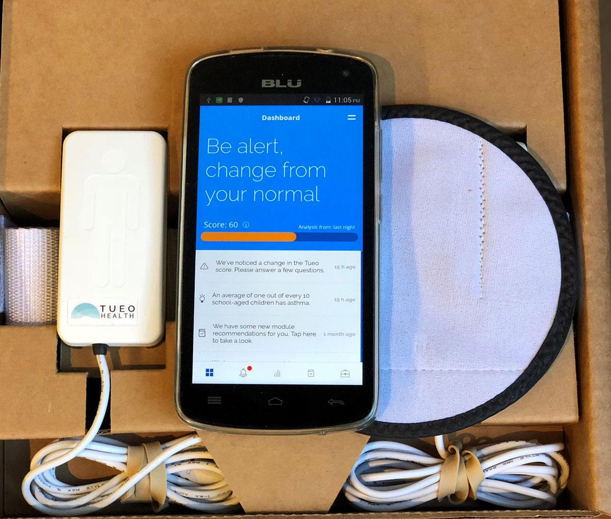 Monitor de asma da Tueo, startup comprada pela Apple