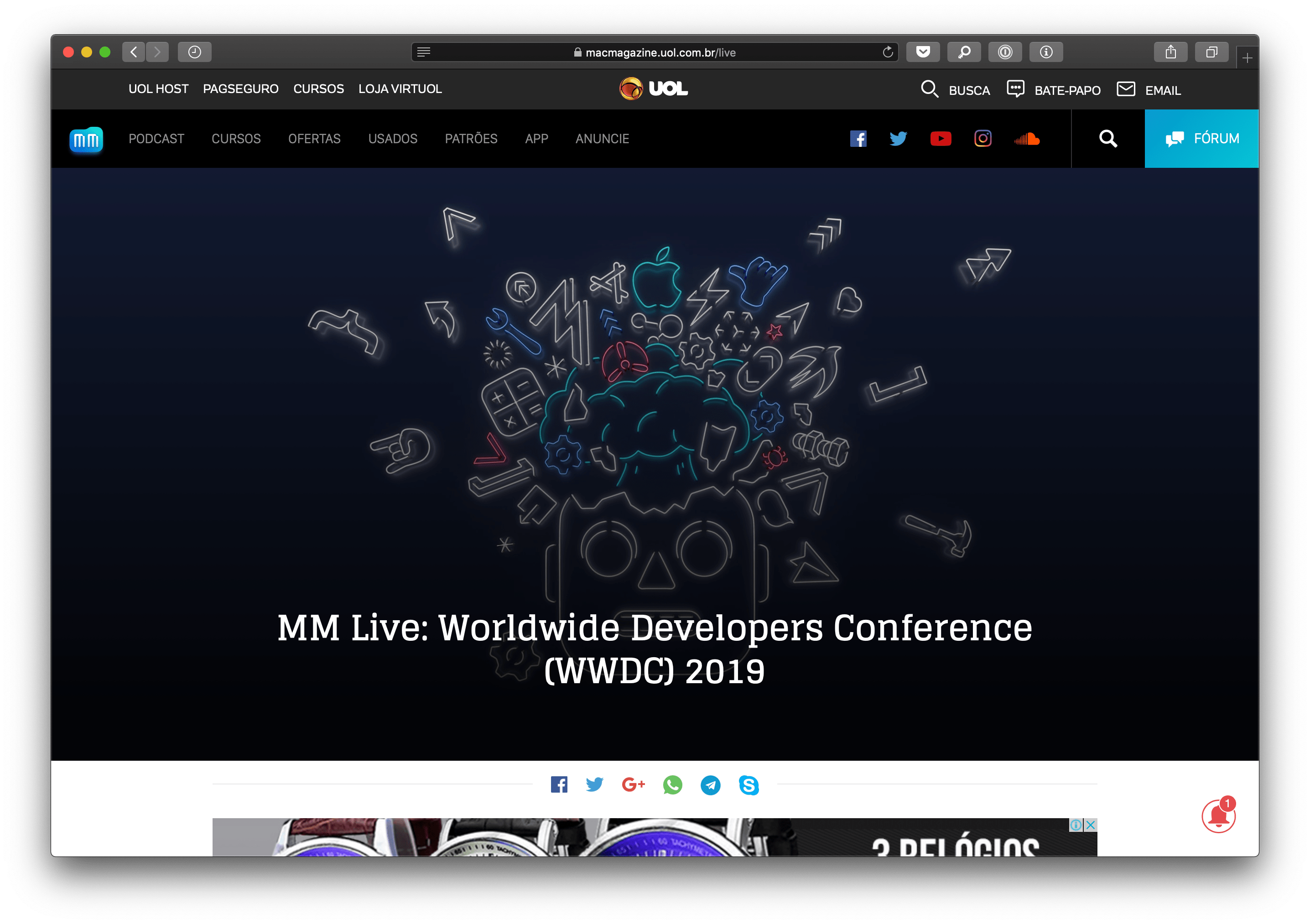MM Live na WWDC19