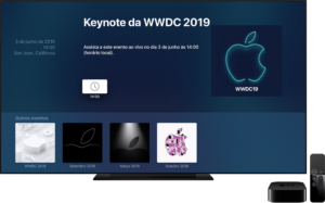 Apple Events para tvOS