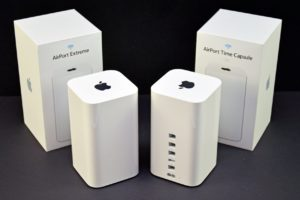 AirPort Extreme e Time Capsule