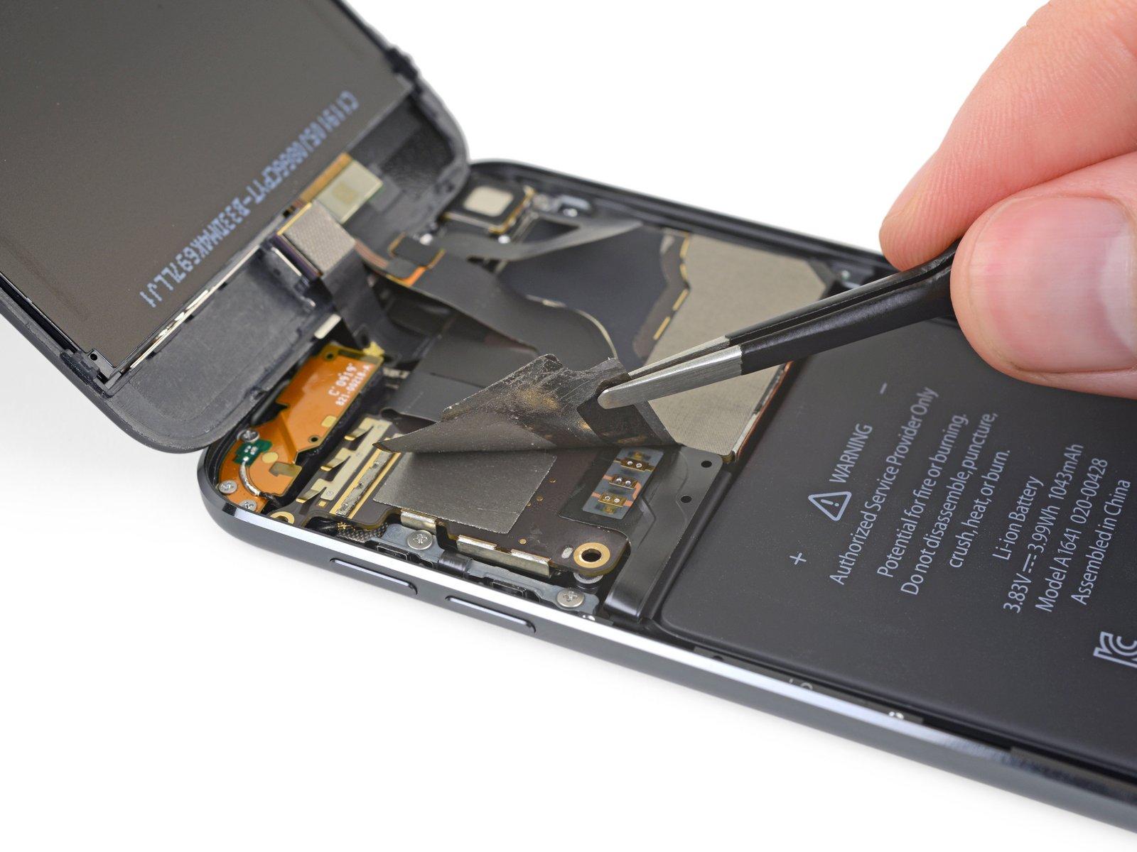 iPod touch de sétima geração desmontado pela iFixit