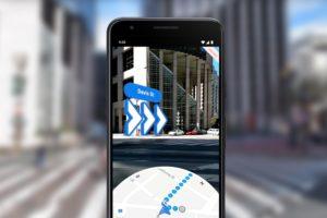 Google Maps com realidade aumentada na navegação a pé