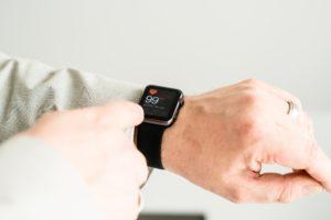 Frequência cardíaca no Apple Watch