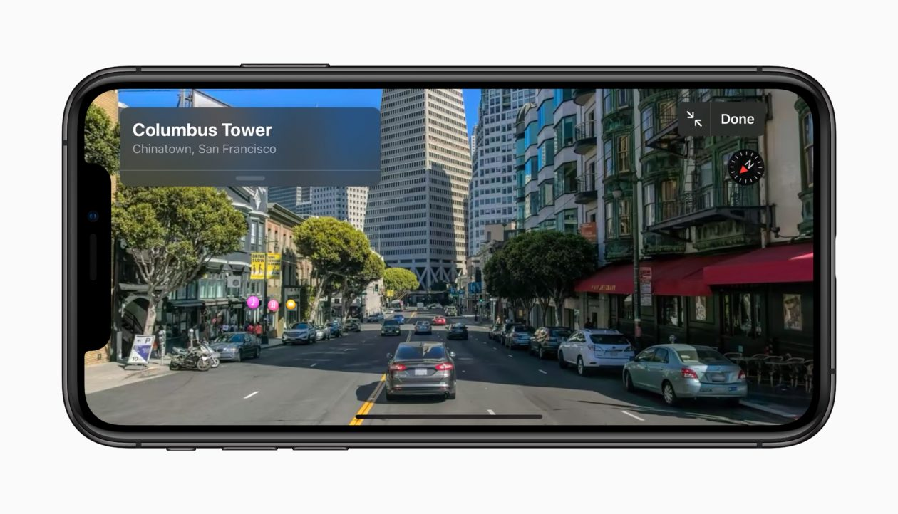 Look Around do Apple Maps no iOS 13