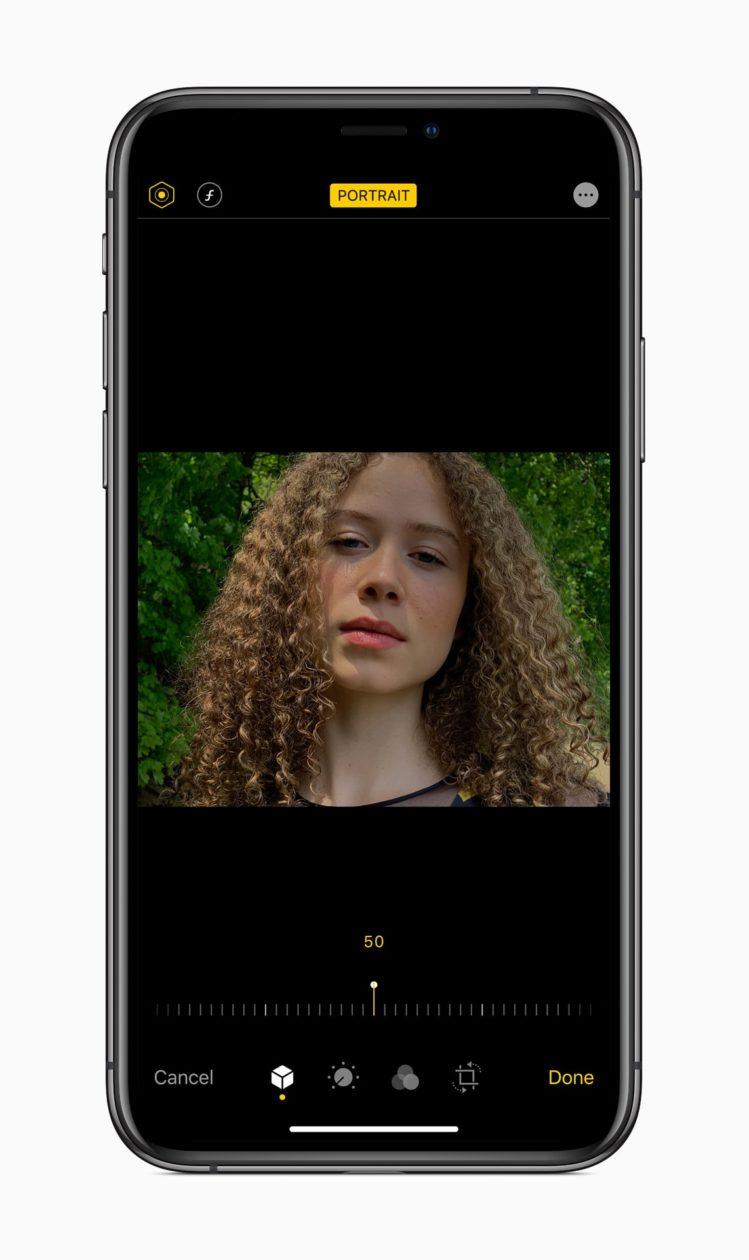 App Câmera no iOS 13