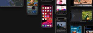 Imagem hero do iOS 13