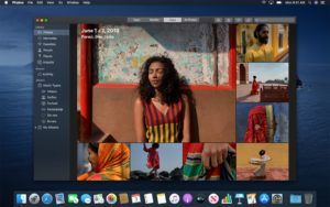 Fotos renovado no macOS Catalina
