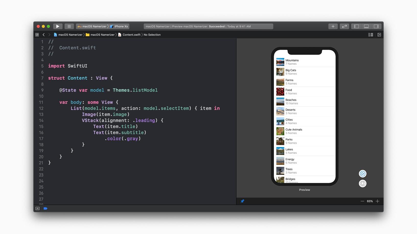 SwiftUI no Xcode 11