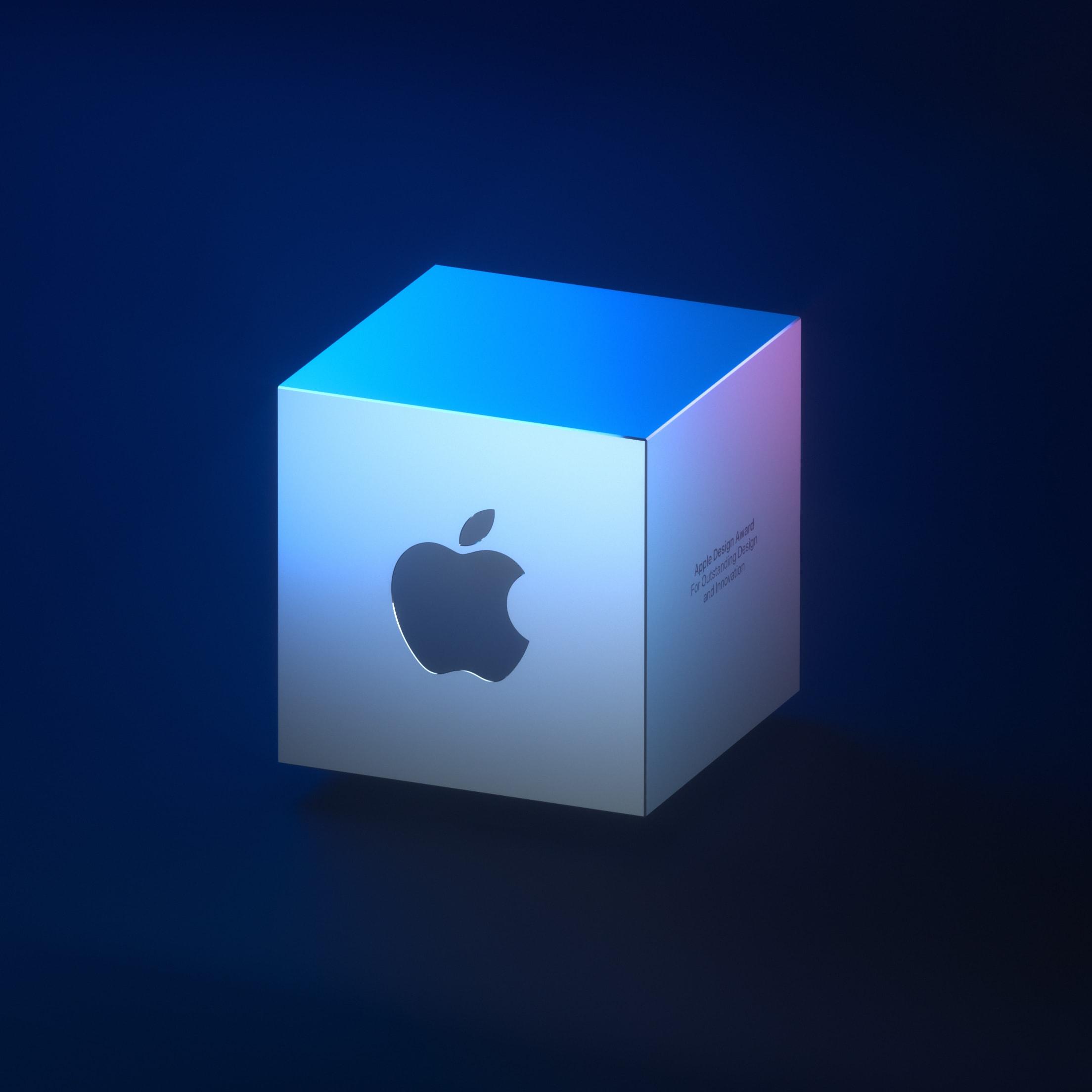 Cubo dos Apple Design Awards 2019 na WWDC