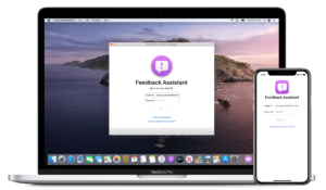 Feedback Assistant no iOS e no macOS