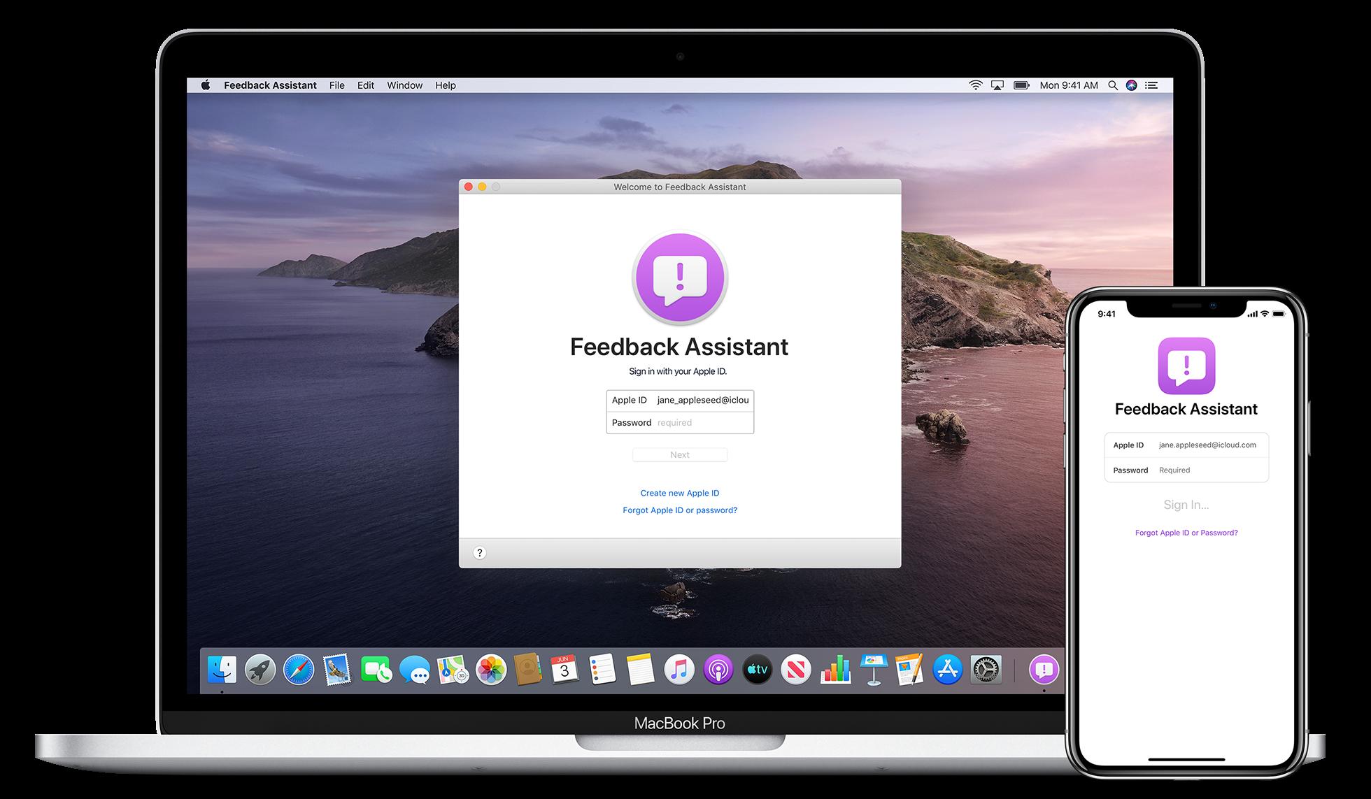 Feedback Assistant no iOS e no macOS