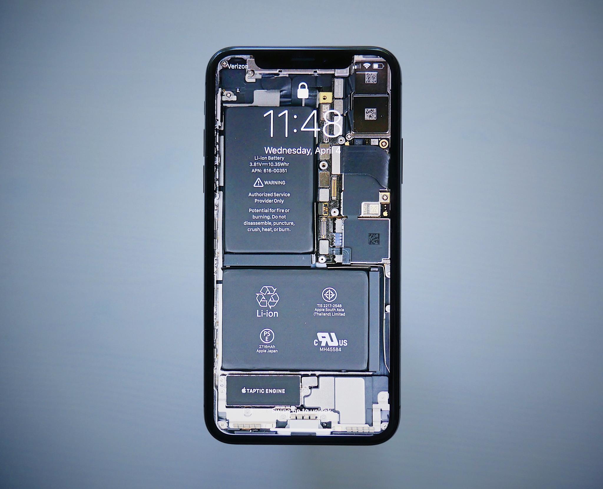Raio X do iPhone