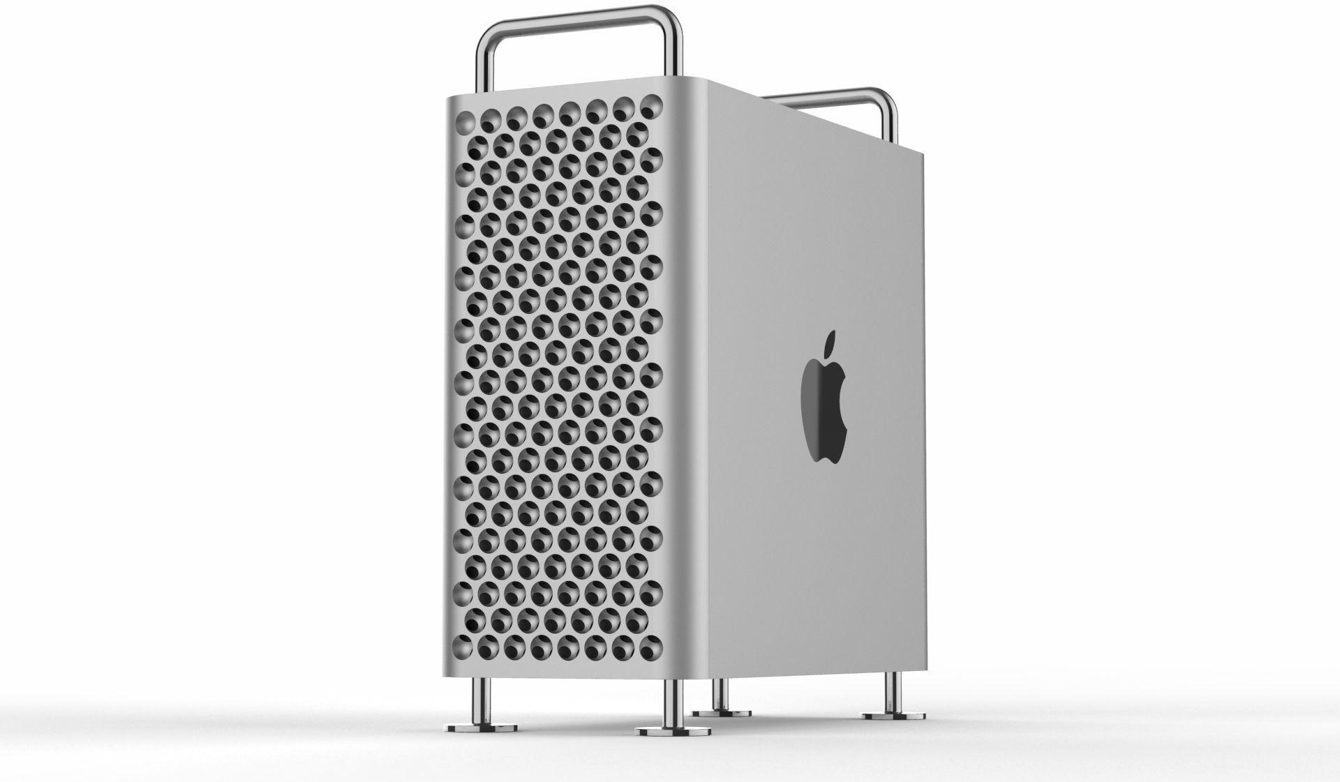Modelo 3D do Mac Pro