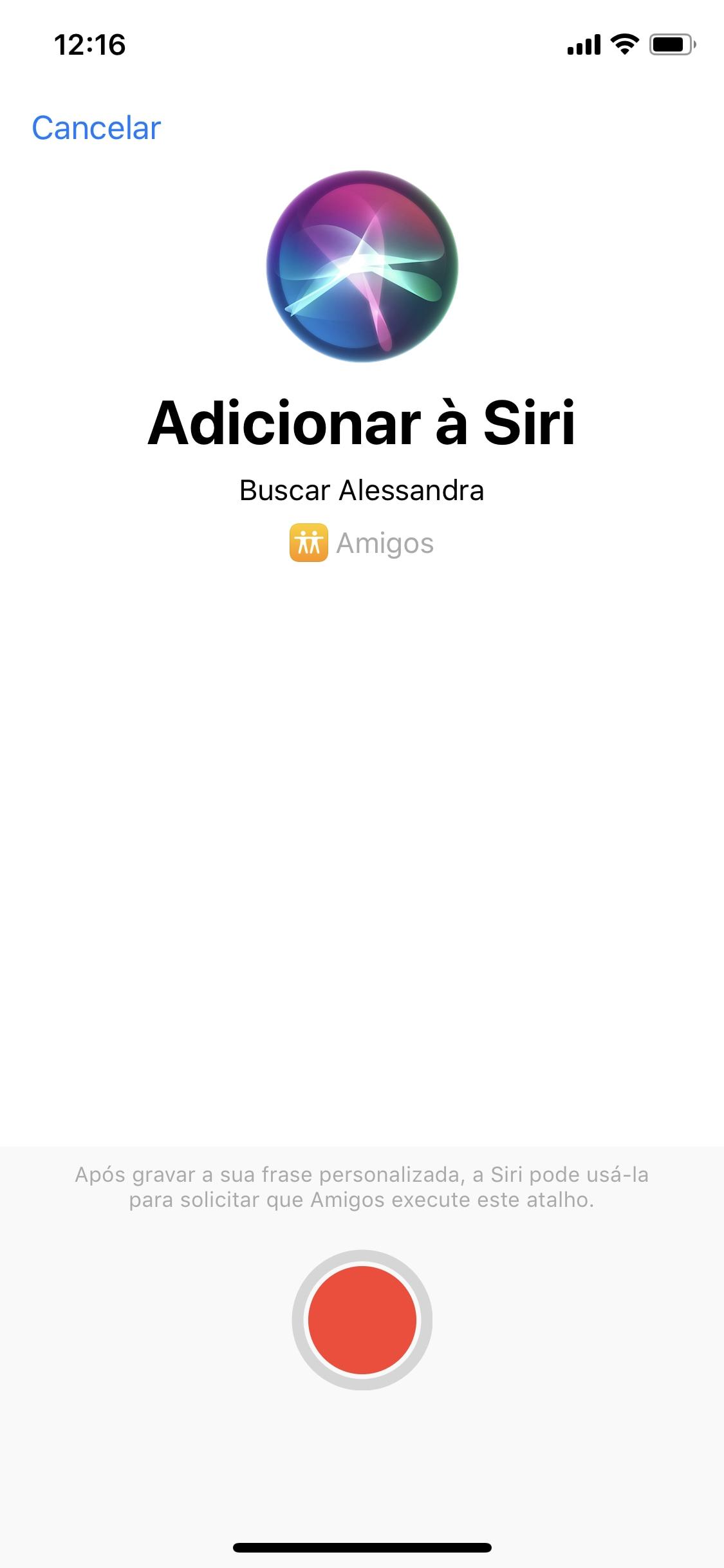 Mudanças no Atalhos - iOS 13