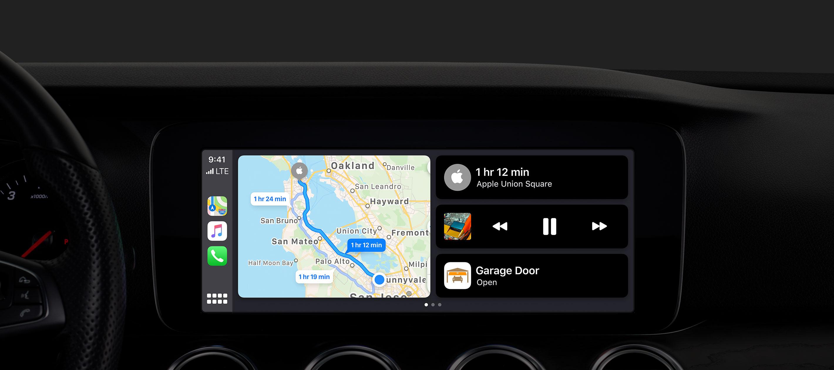 Novo CarPlay no iOS 13
