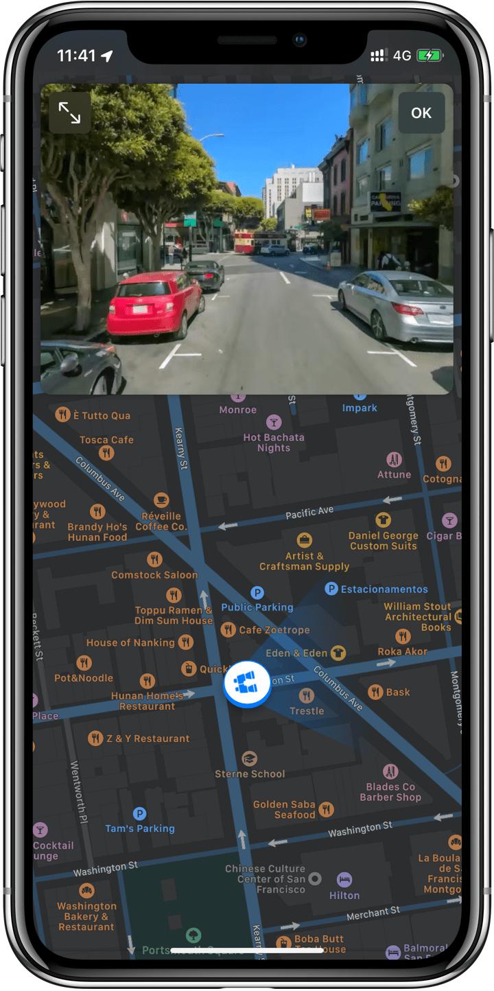 Recurso Look Around no Mapas do iOS 13