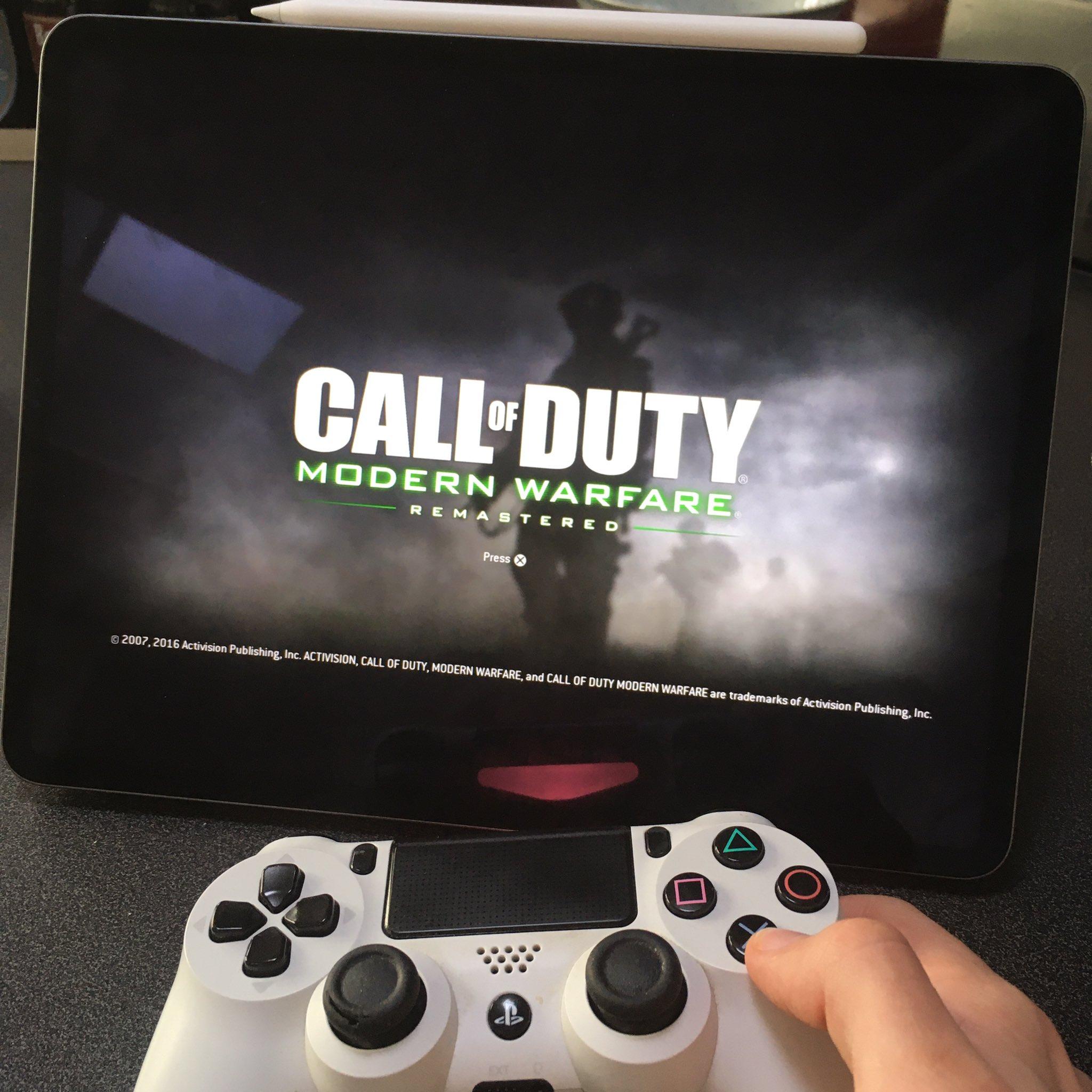 DualShock 4 e iPad com o iPadOS 13