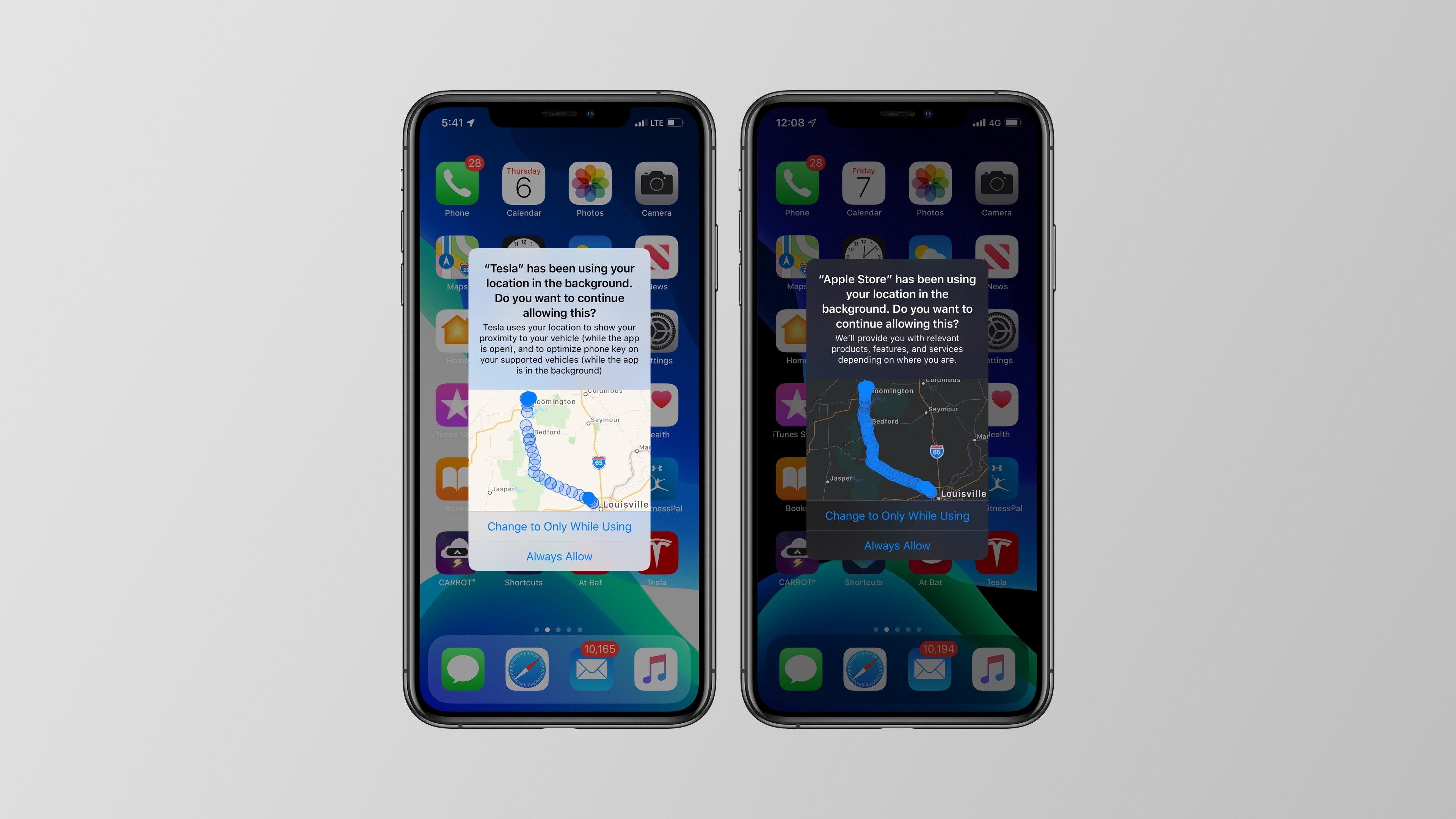 Novidades do iOS 13 (localização)