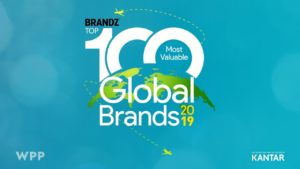 "Vídeo do ""BrandZ Top 100 Most Valuable Global Brands"""