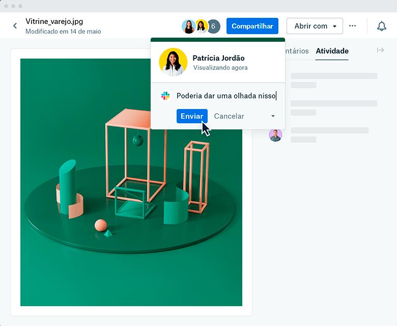 Integração do novo Dropbox com o Slack