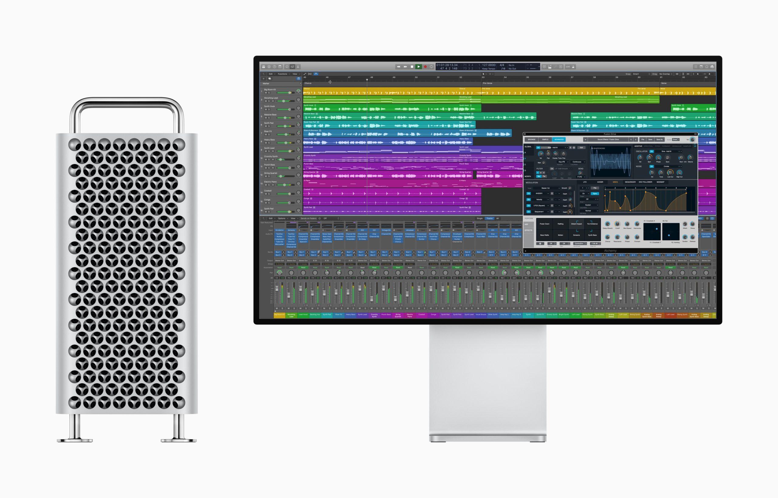 Mac Pro com Pro Display XDR