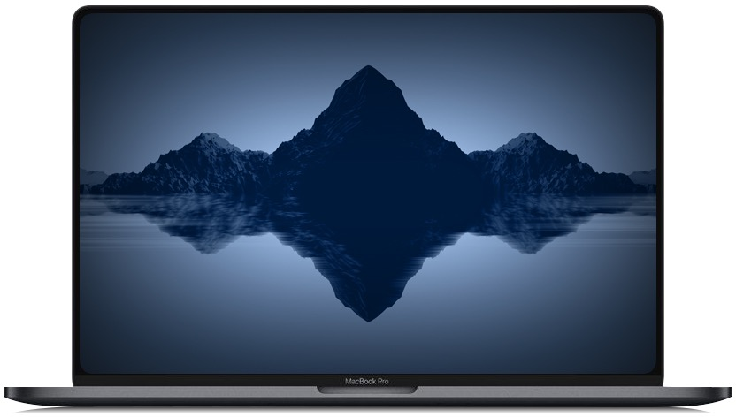 Conceito de como poderá ser o MacBook Pro de 16 polegadas